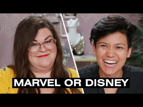 Jen And Kristen Find Out If They're Marvel Or Disney