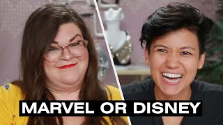 Jen And Kristin Find Out If They're Marvel Or Disney