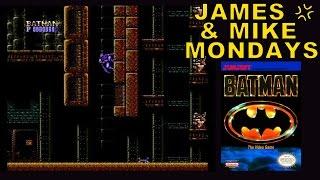Batman: The Video Game (NES) Part 1 - James & Mike Mondays