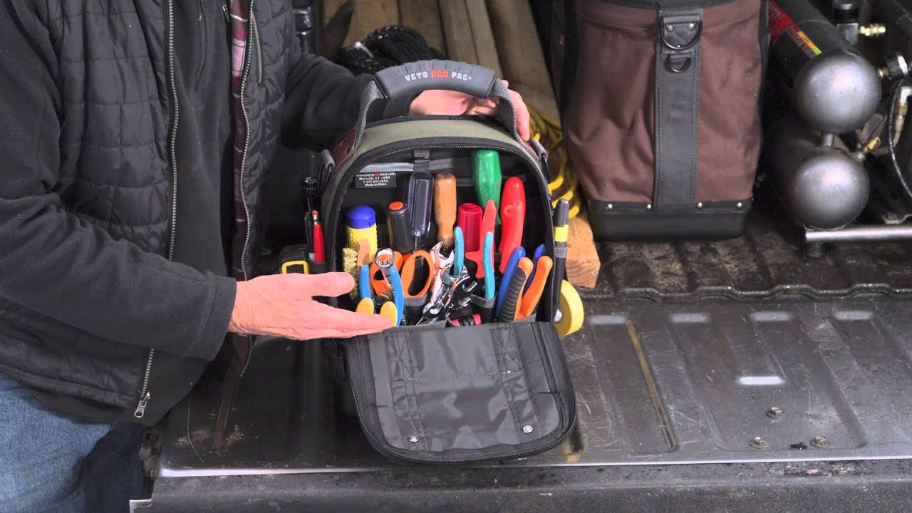Veto Pro Pac Mct Service Tech Tool Bag From The Nut