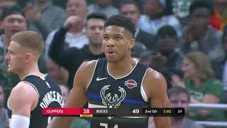 Milwaukee Bucks vs LA Clippers | December 6,2019