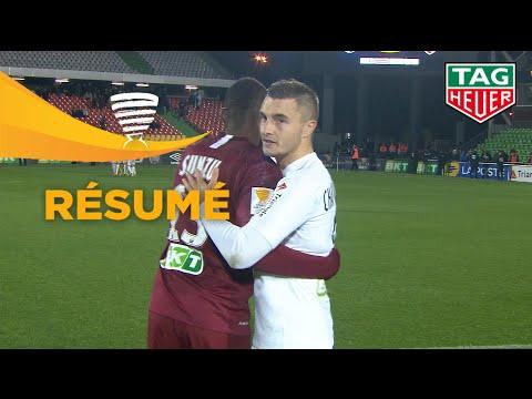 FC Metz - Stade Brestois 29 ( 1-1 3 tab à 4 ) (1/16 de finale) - Résumé - (FCM - BREST) / 2019-20