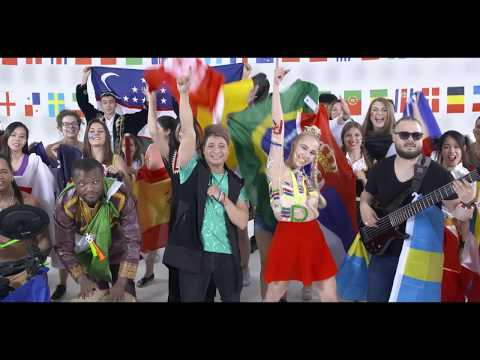 Carlos Ledesma & Katarina - The World is in your Hands (Rusia 2018) [Video Oficial]