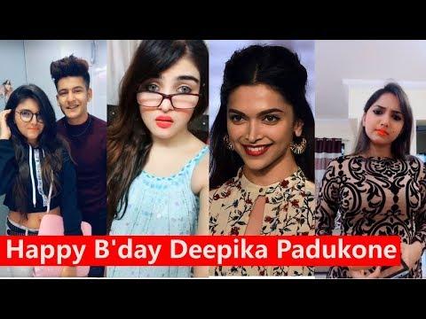 Happy B'day Deepika Padukone Musically | Manjul, Jannat, Aashika, Avneet Kaur Mp3