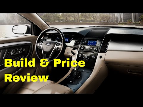 2019 Ford Taurus SEL AWD - Build & Price Review: Features, Specs and Technology