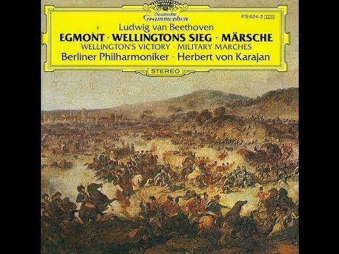 Beethoven Welilngton's Victory Berlin Philharmonic Orchestra Herbert von Karajan