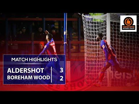 Match Highlights: Boreham Wood (H)