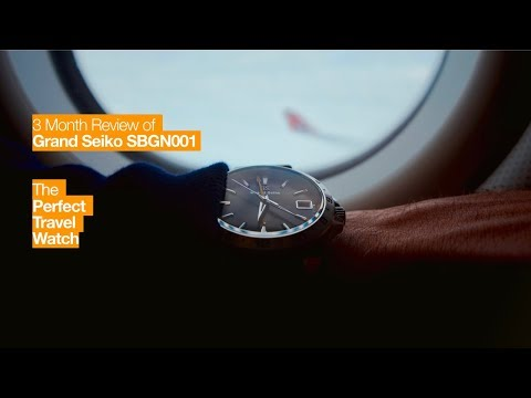 The Perfect Travel Watch - 3 Month Review: Grand Seiko SBGN001