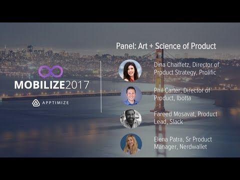 Panel: Art + Science of Product