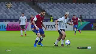 Argentina vs. Chile [1-1]   Copa América 2021 - CONMEBOL - Grupo A   Partido Completo