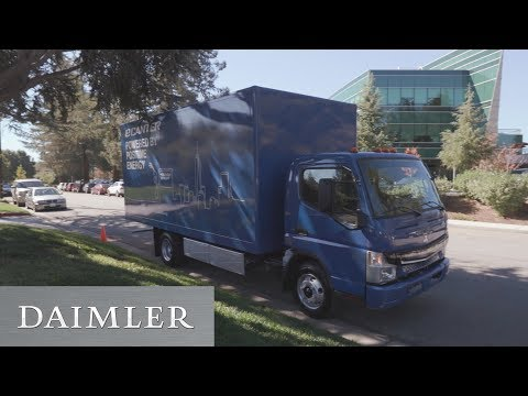 Electric FUSO eCanter | First Test Drive