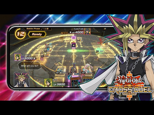 FIRST LOOK! NEW Yu-Gi-Oh! Cross Duel Mobile Game Beta! RANKED 4 PLAYER DUELS, GACHA & MORE!