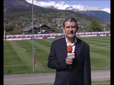 l'équipe national algerienne en suisse--news