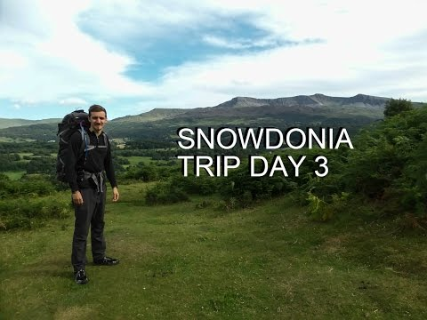 "Snowdonia Wild Camping Solo Trip Day 3 ""Not So Alone Anymore"""