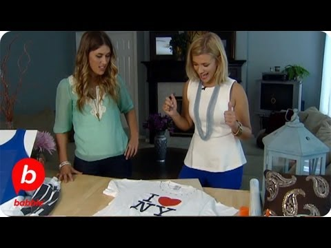 How to Transform Your Old T-Shirts   The Live Well Network   Babble