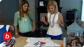 How to Transform Your Old T-Shirts | The Live Well Network | Babble