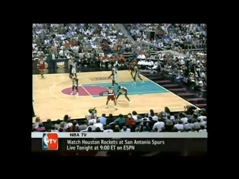 Sam Cassell: Between The Legs Crossover Dribble