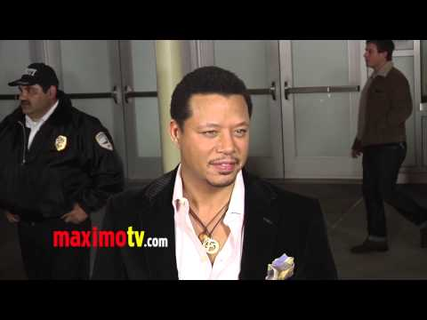 "Terrence Howard ""Dead Man Down"" Premiere Red Carpet ARRIVALS"