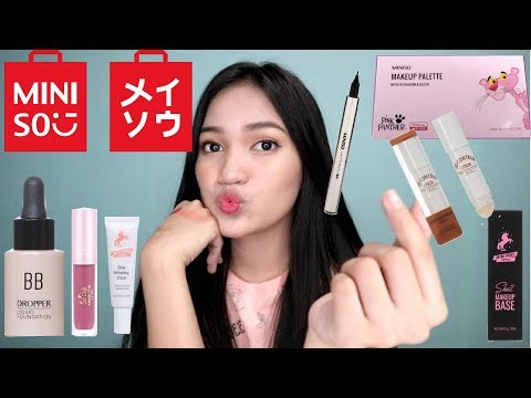 LAHAT Miniso makeup products (99 Pesos?!)|Philippines
