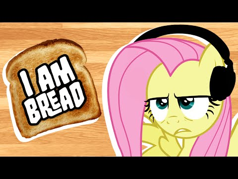 Fluttershy plays I am Bread 🍉   No Hope, Everypony.