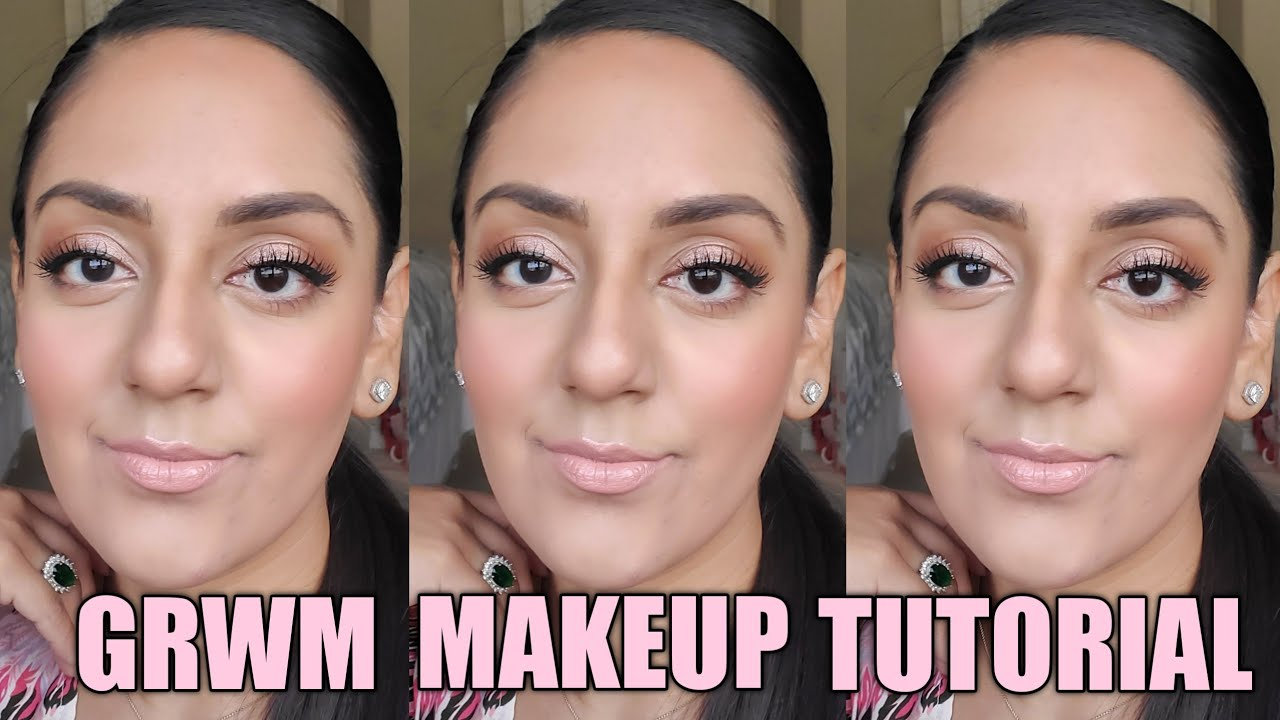 Grwm Makeup Tutorial Youtube I used browns and black eye. youtube