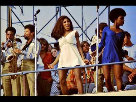 Ike and Tina Turner - Newport Festival 1970