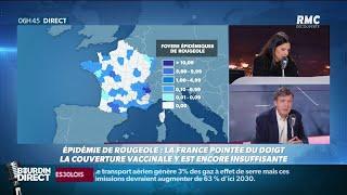 Rougeole en France: