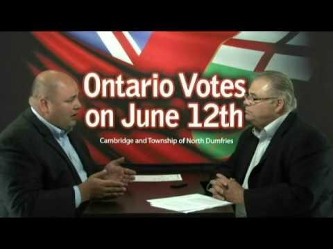 Ontario Votes - PC Candidate Rob Leone