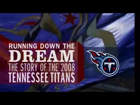 """2008 Tennessee Titans Team Yearbook """"Running Down the Dream"""""""