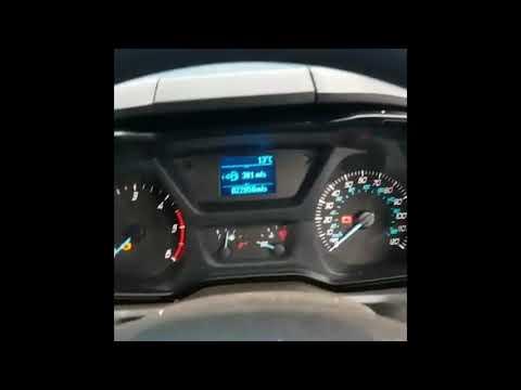 Ford Transit Tyre warning Light Reset
