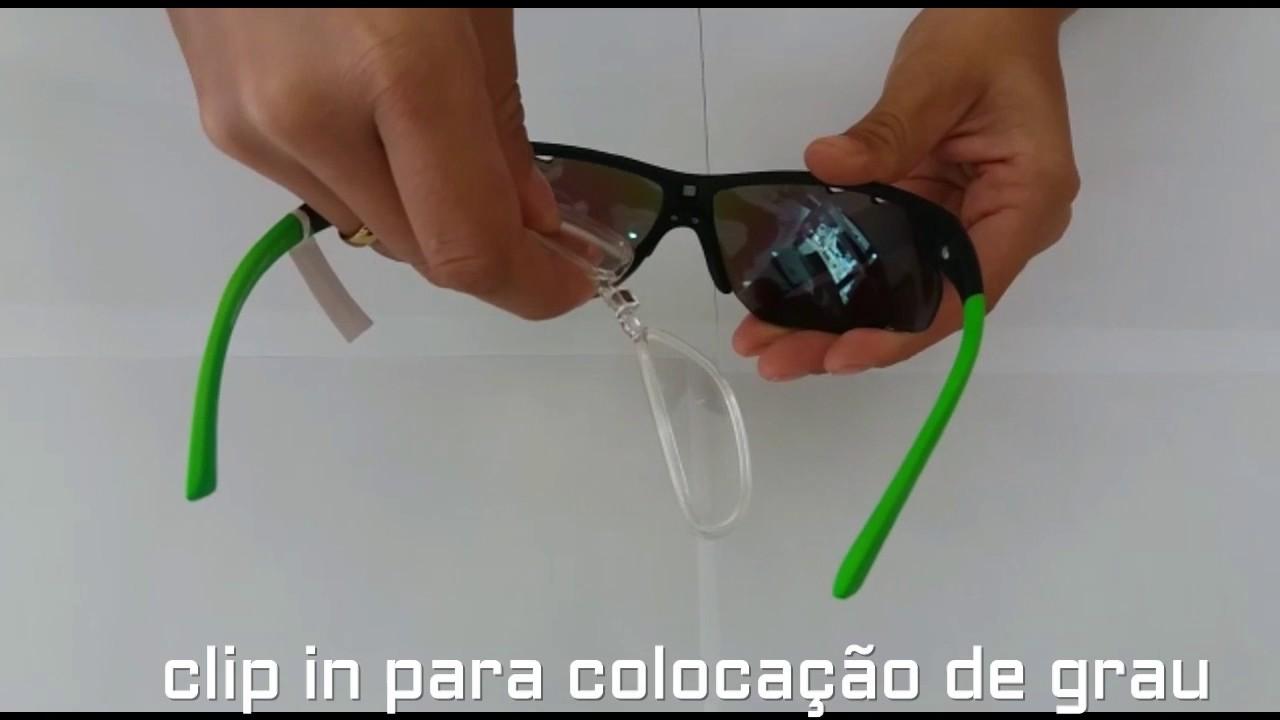 Óculos Mormaii Eagle com Clip para Grau - YouTube a871c79527