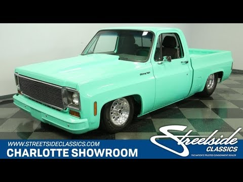1973 Chevy Truck >> 1973 Chevrolet C10 Custom For Sale 5471 Cha