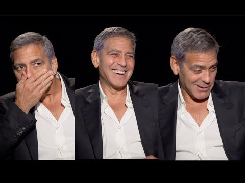 GEORGE CLOONEY Talks Diapers, Amal And Those Cute Passport Baby Photos