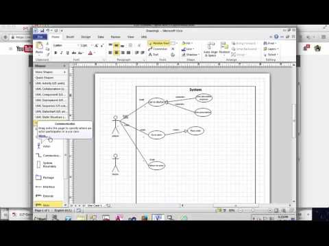 Create Use Case Diagram In Microsoft Visio