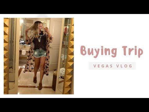 BUYING TRIP VLOG| WWD MAGIC 2018