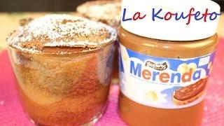 Σουφλε σοκολατας με 2 υλικα / ΠΑΥΛΙΔΗΣ ΜΕΡΕΝΤΑ ΠΡΑΛΙΝΑ ΦΟΥΝΤΟΥΚΙΟΥ / Merenda