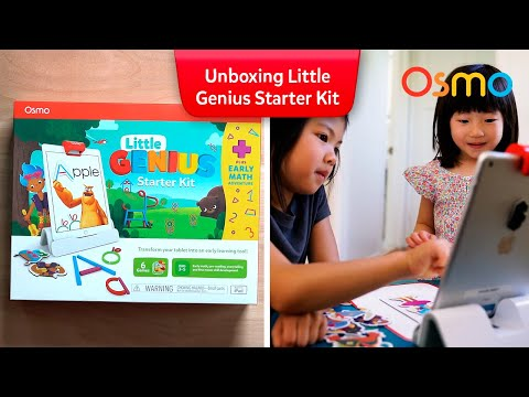 Let's Unbox the Osmo Little Genius Starter Kit + Early Math Adventure!