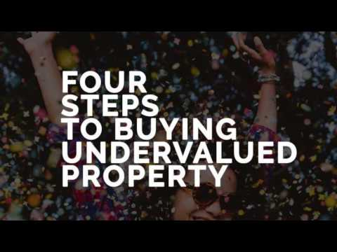 THE FOUR STEPS TO BUYING UNDERVALUED CHEAPER! PROPERTY