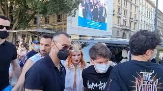 Bella Thorne e Benji Mascolo protagonisti assoluti del Milano Pride 2021