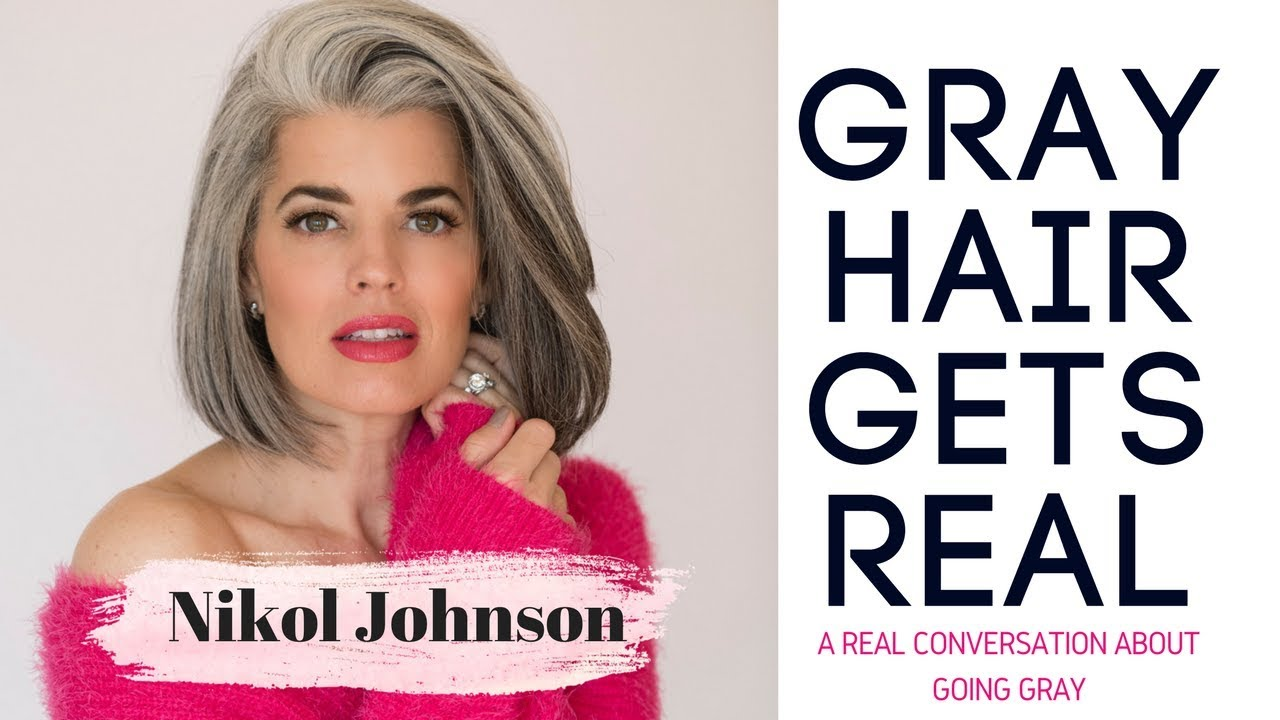 WHY GRAY HAIR IS CHANGING THE BEAUTY INDUSTRY | Nikol Johnson