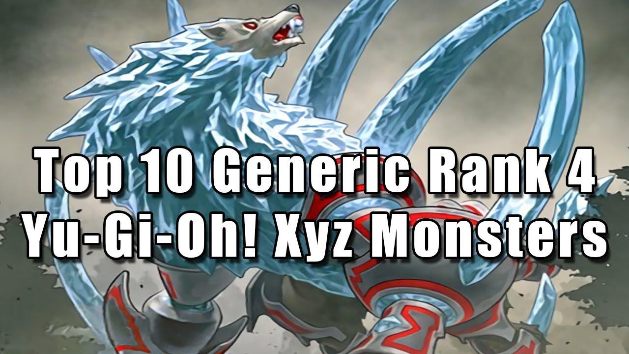 Top 10 Generic Rank 4 Yu Gi Oh Xyz Monsters Youtube