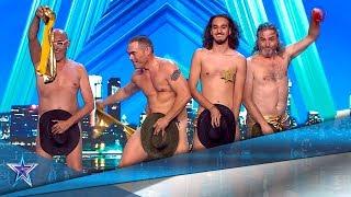Estos COWBOYS te CALENTARÁN con su DESASTROSO STRIPTEASE | Audiciones 3 | Got Talent España 5 (2019)