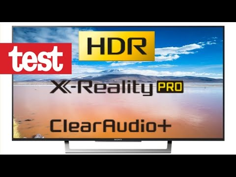 Sony Bravia X-reality TRILUMINOS display TV TEST