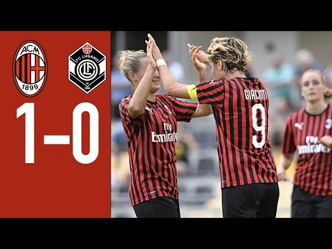 Highlights of AC Milan 1-0 Lugano | AC Milan Women's Team