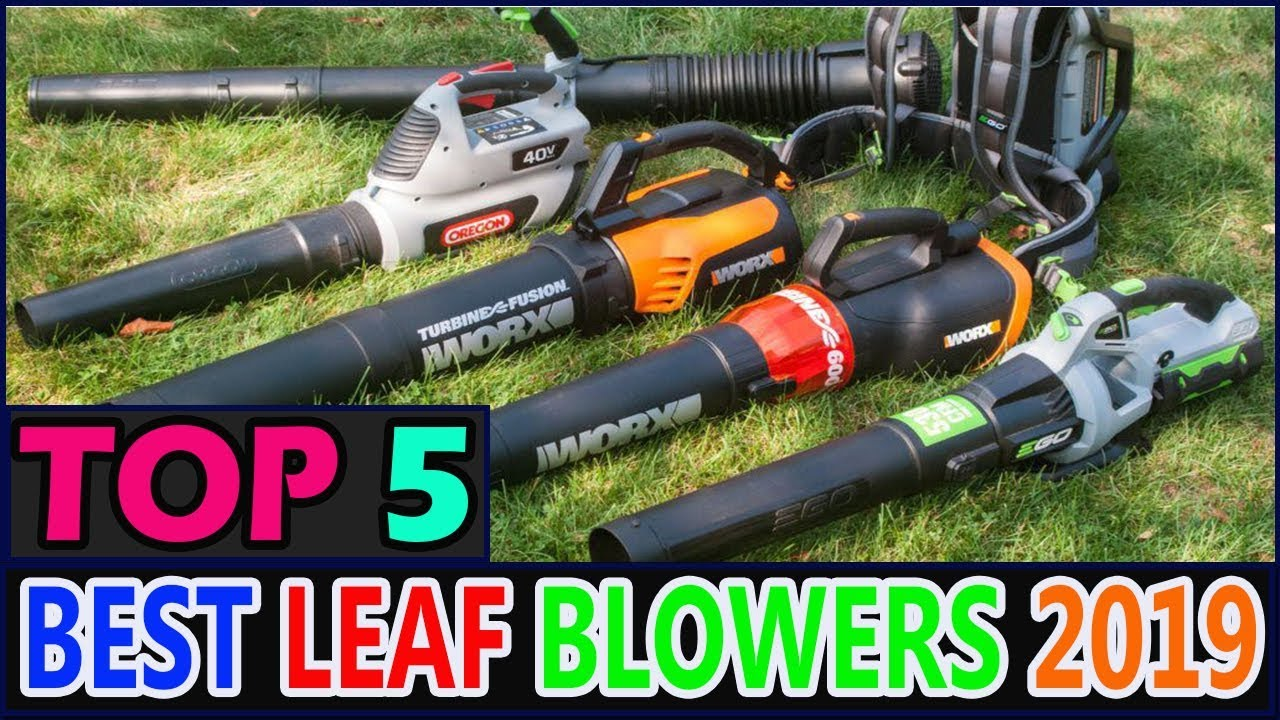 Best Leaf Blowers Amp Leaf Vacuums In 2019 Youtube