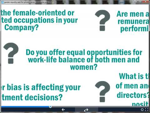 Gender Equality Seal Certification Programs as key drivers of better management and results - Part 1