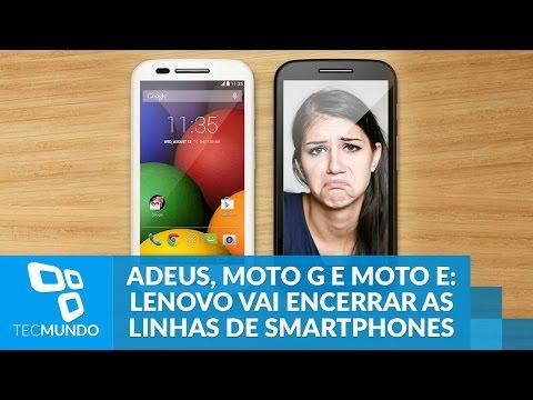 Adeus, Moto G E Moto E? Lenovo Pode Encerrar As Duas Linhas De Smartphones