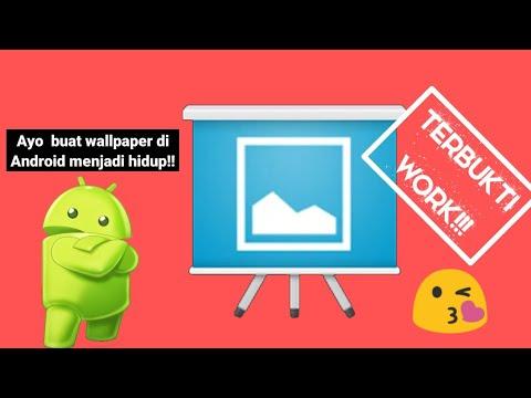Cara Membuat Gambar Gif Menjadi Wallpaper Bergerak Di Android Gratis Tanpa Root Youtube