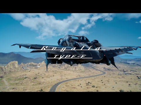 Final Fantasy XV Regalia Type F EU YouTube