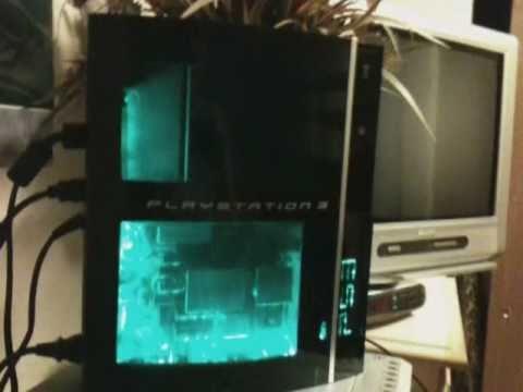 Custom LED Modded 500GB PS3 YouTube
